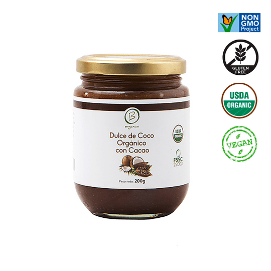 Dulce coco cacao Be Organics