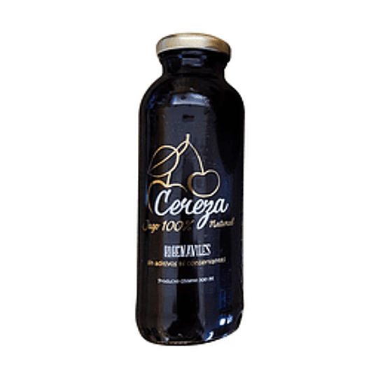 Jugo natural cereza 300ml Ruben Aviles