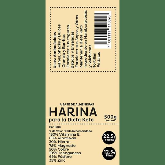 Harina Para la dieta Keto (a base de Almendras) 500gr