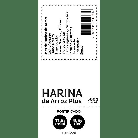 Harina de Arrroz Plus (Fortificada) 500gr