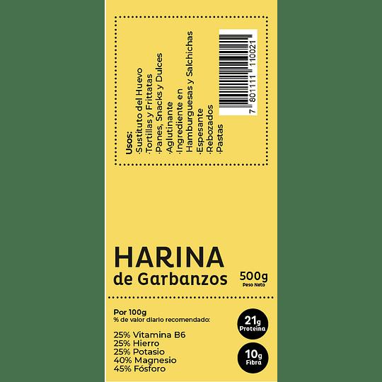 Harina de Garbanzos 500gr