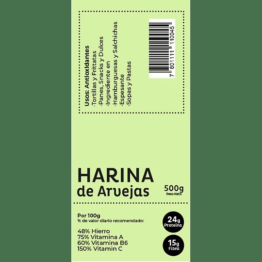 Harina de Lentejas 500gr