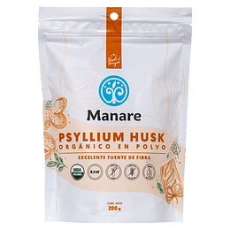 Psyllium Husk org. 200g Manare