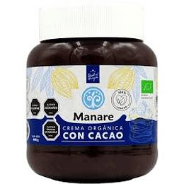 Crema vegana Cacao org. 400g Manare