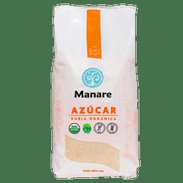 Azúcar Rubia Orgánica 1 Kg Manare