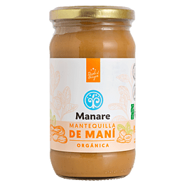 Mantequilla de Maní Orgánica 360g Manare