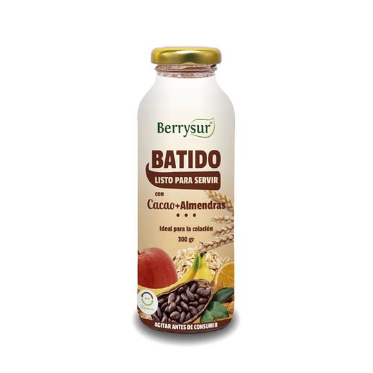 Batido cacao y almendras