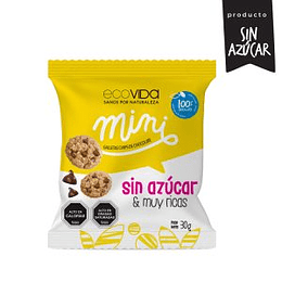 Galletas chips chocolate sin azucar 30g