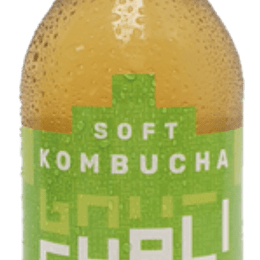 Kombucha soft limon jengibre 330ml