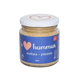 Hummus aceituna - pimiento