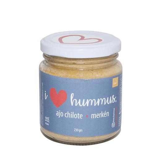 Hummus berenjena - paprika