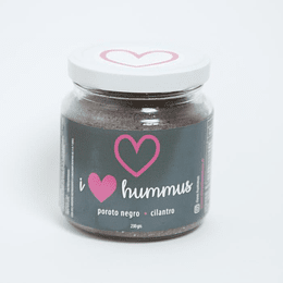 Hummus poroto negro - cilantro