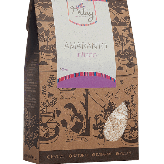 Amaranto inflado 100g