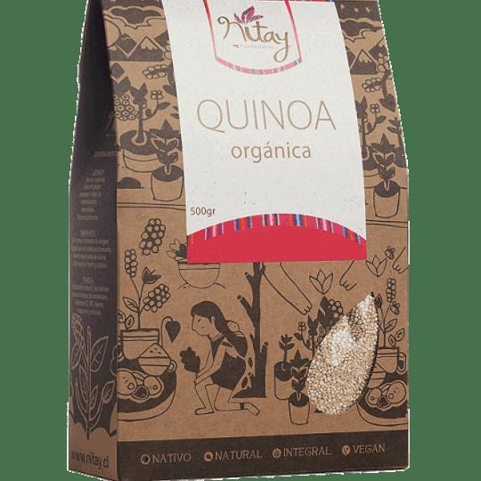 Quinoa blanca organica