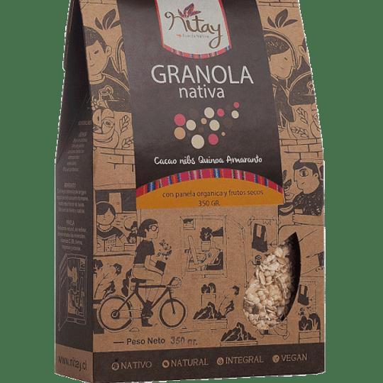 Granola nativa cacao nibs 350g
