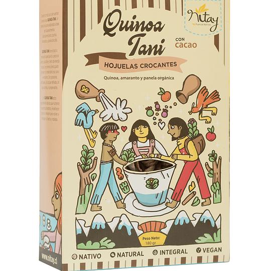 Cereal quinoa tani cacao 180g