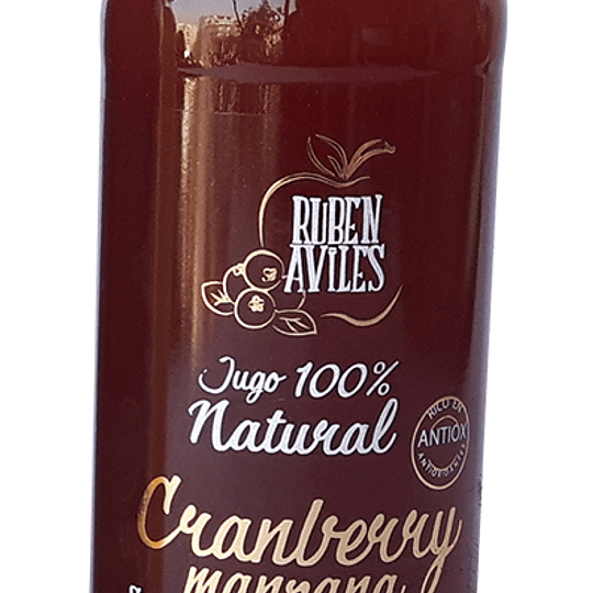 Jugo natural manzana cranberry 300ml