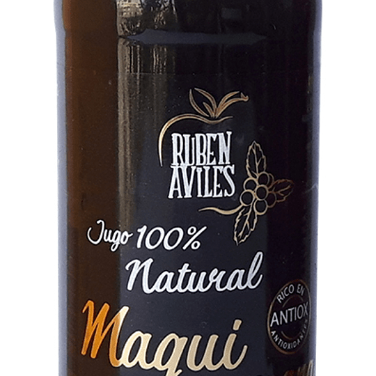 Jugo natural manzana maqui 350ml