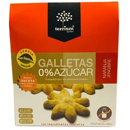 Galletas 0% azucar naranja jengibre 180g