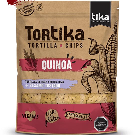 Tortika quinoa y sesamo tostado 180g