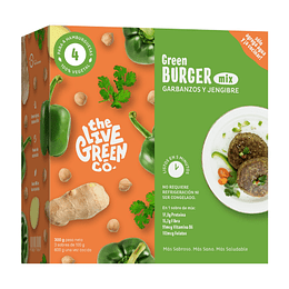 Burger mix - garbanzos y jengibre 200g