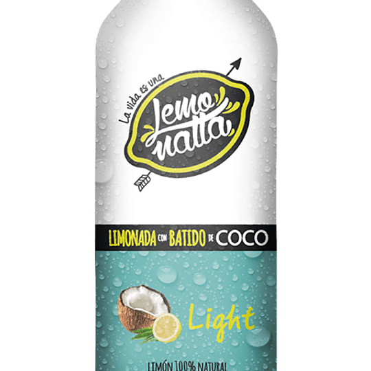 Batido de coco light