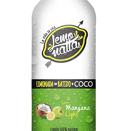 Batido de manzana light
