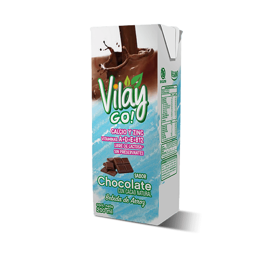 Alimento de Arroz Chocolate 200 ml