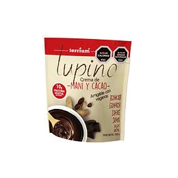 Crema de maní cacao lupino 250 grs