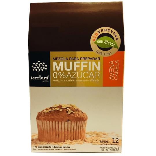 Muffin mix 0% azucar avena canela 300g