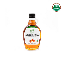 Jarabe de maple o maple syrup organico 250ml