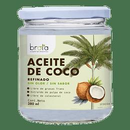 Aceite de coco refinado sin olor ni sabor 380ml