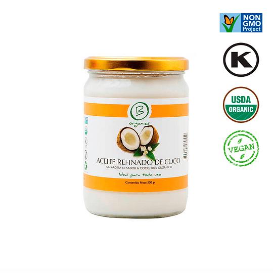 Aceite de coco  refinado 500 ml