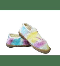 Zapatos de Fieltro Ovino