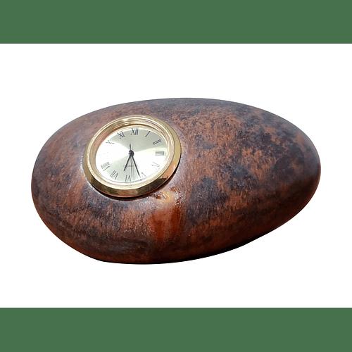 Piedra Con Reloj
