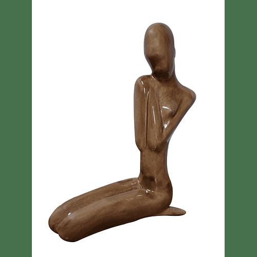 Escultura Africana Esmaltada