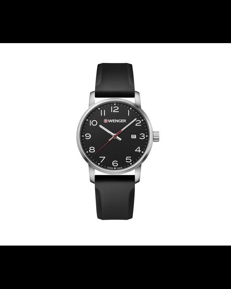 Reloj Avenue Correa Negra - Wenger