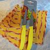 Juego de cuchillos de mesa amarillo 10cm - Swiss Classic