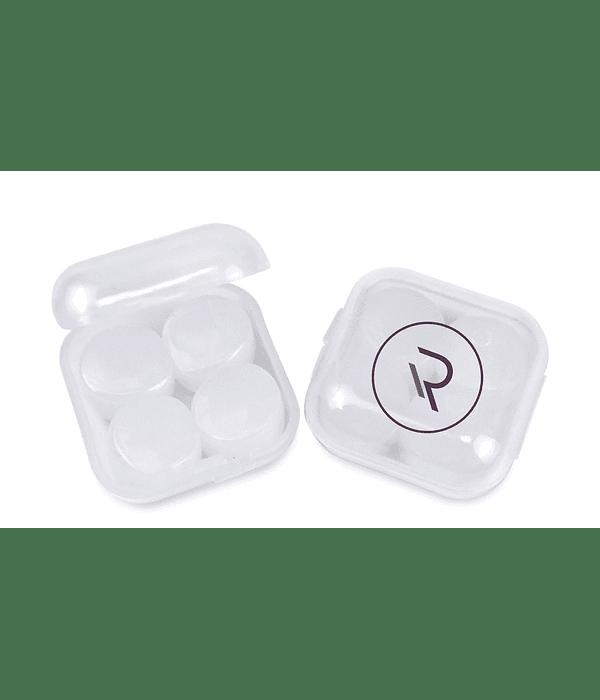 Tapones para oídos de silicona moldeable
