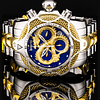 Reloj hombre Invicta venom dragón blue gold
