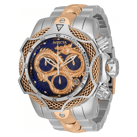 Reloj Invicta venom dragón gold rose