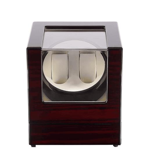 Caja para 2 relojes automáticos corriente y pila Kranich