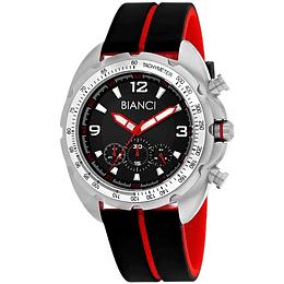 Reloj Bianci negro Rojo RB55060