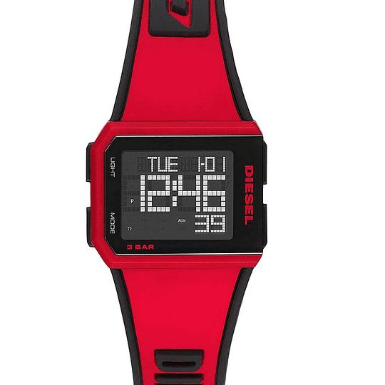 Reloj Diesel rojo DZ 1923