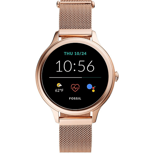 Reloj inteligente Fossil Mesh