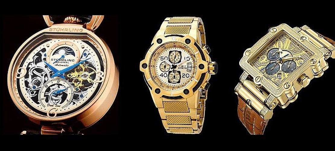 Relojes Dorados H