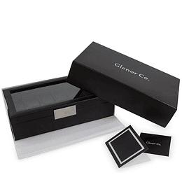 Estuche Caja de Lujo Marca Glenor Original carbón fiber