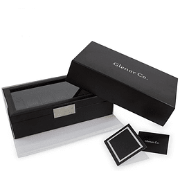 Estuche Caja de Lujo para 12 relojes Glenor Original carbón fiber