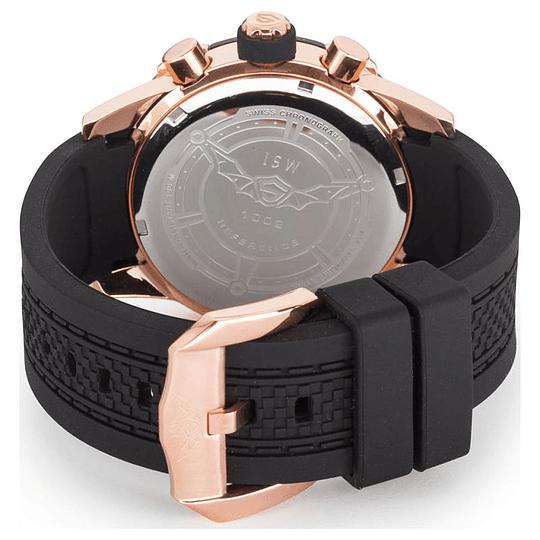 Reloj Cronógrafo Swiss Isw-gun-gold