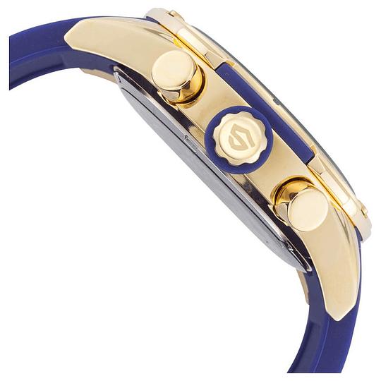 Reloj Crono swiss Blue-Gold-Isw